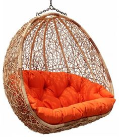 Hanging chair. Built for 2. I love this!!!  great place to curl up and read