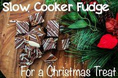 Slow cooker fudge