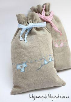 Tutorial para coser una bolsa para lencería muy facil. Perfecto para iniciarse en la costura.