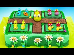 Farm Heroes Super Saga Garden Cake & iPad Giveaway! - YouTube