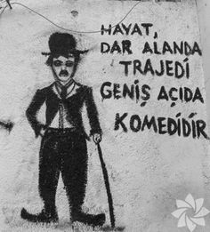 Maxime, Weird Dreams, Charlie Chaplin, Street Art Graffiti, Meaningful Words, Galaxy Wallpaper, Cool Words, Karma, Quotations