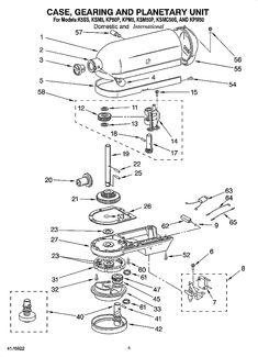 7 best barbour images barbour, hobart mixer, ideaswhirlpool mixer k5ss parts list