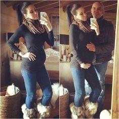 Jennifer Stano Baby Bump