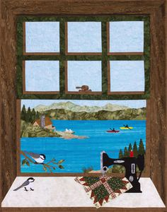 Quilting at the Lake | Sweet Season Quilts