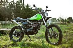 yamaha ttr 250 retro scrambler - Google Search
