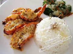 large prawns with rice - Google Search