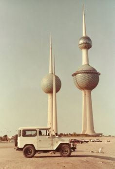 Kuwait Towers - might be cool to visit some day