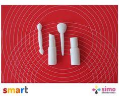 Simo Silikon Makyaj Malzemeleri Sabun ve Kokulu Taş Kalıbı - 4'lü