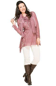 Portez cette tunique avec foulard assorti quelle que soit l'occasion. Occasion, Marie Claire, Blouse, Long Sleeve, Sleeves, Women, Fashion, Tunic, Headscarves