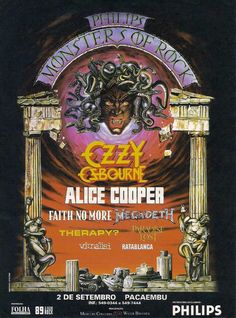 Monsters of Rock - SP, Sep, 2nd, 1995
