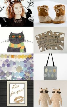 Tell Me Something Good by Nicole Fekaris on Etsy--Pinned with TreasuryPin.com