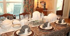 Make your Thanksgiving table one your family will always remember - special and with a turkey on every plate. The turkey napkin fold looks difficult, but it's n…