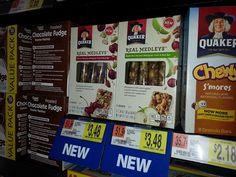 Quaker Real Medleys Just $1.08 At Walmart!