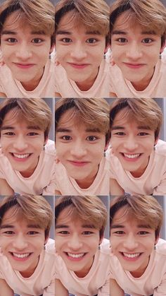 I told you smile, and you smile. Lucas Nct, Nct 127, Kpop, Sehun, Personajes Studio Ghibli, Korea, Young K, Mark Lee, Na Jaemin