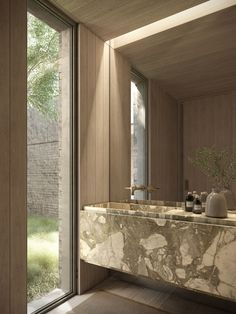 Bathroom Design Luxury, Interior Design Kitchen, Modern Bathroom, Interior Decorating, Casa Wabi, Bathroom Design Inspiration, Interiors Magazine, Interiores Design, Modern Design