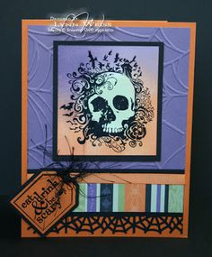 LW Designs: Halloween Invitations From the Crypt
