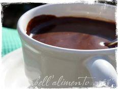 Italian Hot Chocolate.  MY FAVORITE!