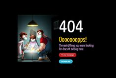 When you see a 404 error, it means that the page that you're trying to reach is not available on the server. Empty State, Error Page, Page Design, Creative, Inspiration, Beauty, Ideas, Biblical Inspiration, Beauty Illustration