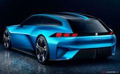 2017 Peugeot 'INSTINCT' Concept