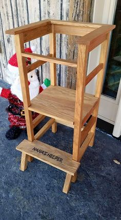 Standing High Chair | Do It Yourself Home Projects from Ana White