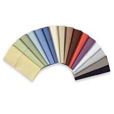 Wamsutta® 400 Thread Count Sheet Set - Bed Bath & Beyond. These have some good color choices that would give that extra pop