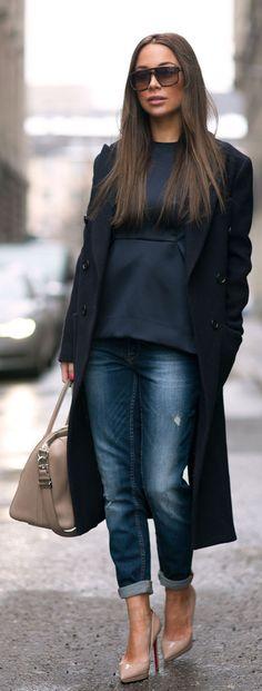 Johanna Olsson goes street style in Stockholm