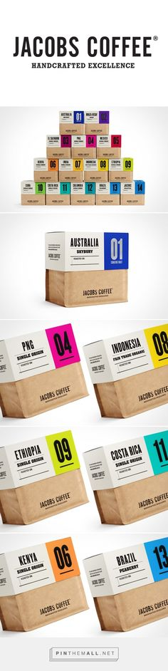 Jacobs Coffee Packaging by Depot Creative Fivestar Branding – Design and Branding Agency & Inspiration Gallery Craft Packaging, Cool Packaging, Beverage Packaging, Coffee Packaging, Coffee Branding, Organic Packaging, Chocolate Packaging, Paper Packaging, Product Packaging