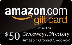 At the Giveaways.Directory we love giveaways as much as you do!  Enter now for a chance to win a $50 Amazon Giftcard from the gang at the Giveaways.Directory ! 8 ways to enter, contest finished on 30 September 2017.