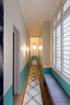 Couloir- Appartement Parisien de 320m2- GCG Architectes
