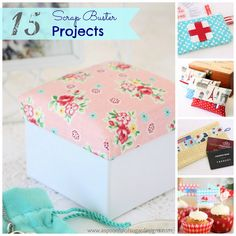 15 fabric projects: great for gifts for any occasion, love this blog!