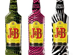 J&B Crazy Colors on Packaging of the World - Creative Package Design Gallery