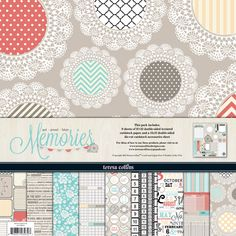 Teresa+Collins+-+Memories+Collection+-+12+x+12+Paper+and+Accessories+Pack+at+Scrapbook.com+$10.99