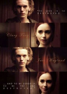 Clary and Jace, screencaps, Best Love Stories, Love Story, Clary And Jace, Cassandra Clare Books, Complicated Relationship, Clace, City Of Bones, Lily Collins, Shadow Hunters