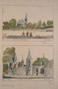 Schoemaker Atlas: Noord-Brabant, Mierlo 1710-1735