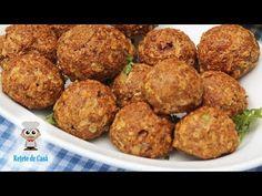 Chiftele de Porc Pufoase - Rețetă de Chifteluțe La Cuptor - YouTube Romanian Food, Garlic Shrimp, Shrimp Recipes, Food Videos, Deserts, Food And Drink, Dishes, Martha Stewart, Cooking