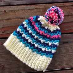 Appelton Hat #crochetpattern by Two Brothers Blankets