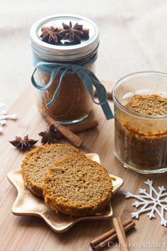 Un pain d'épice cuit en bocal pour être offert à Noël! La recette est sans oeufs, ni lait pour permettre une conservation optimum.