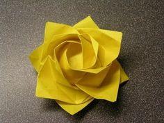 Manualidad: Rosa Kawasaki en Origami - Hogar Tv  por Juan Gonzalo Angel