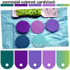Mermaid Color Palettes by denna's ideas