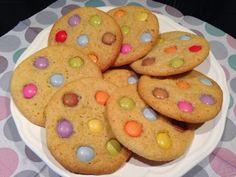 olles *Himmelsglitzerdings*: Smarties Cookies