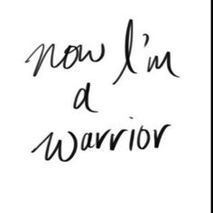 There are two me, the warrior and  the princess but even so, I'll always be in between