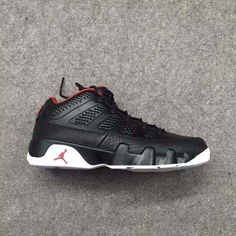 "e87235d57aa6cd The Air Jordan 9 Low ""Bred"""