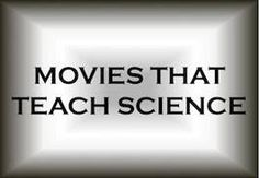 Pinner says: Movies that Help to Teach Science. From Apollo 13 to The Right Stuff, From October Sky to Inherit the Wind, a look at movies that can be used in the classroom (or at home) to give some insight into science and and the real world. Science Movies, Film Science Fiction, Science Videos, Science Lessons, Life Science, Earth Science, Science Fun, Science Resources, Weird Science