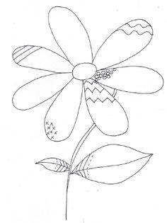 La Primavera Dibujos Para Pintar #dibujos #