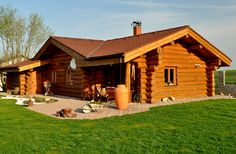 Srub Log Homes, Home Fashion, Shed, Houses, Outdoor Structures, Cabin, House Styles, Home Decor, Home Layouts