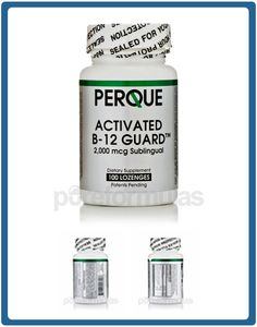 $30.40 - These activated B-12 lozenges by Perque deliver B-12 in its superior, hydroxocobalamin activated form. This form is superior because it has the highest half-life of any other form that has been shown to raise B-12 serum levels. Perque designed this product to help remove toxins from the body and improve brain and nerve cell function. B-12 supplementation can stimulate the way the body uses fats, proteins and carbohydrates, which can result in increased energy.