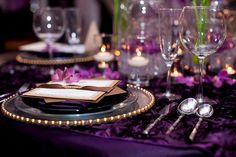 Purple wedding inspiration by Bianca Weddings @The Wedding Salon