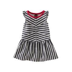 Tea Collection Zebra Stripe Flutter Dress