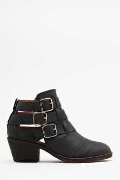 Ackley Buckle Boot