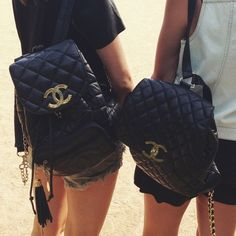 The backpack to end all backpacks #Chanel